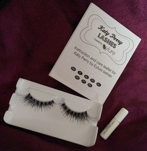 Eylure Katy Perry Punk Princess False Lashes - Box Contents