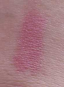 The Body Shop Colourglide Shine Lip Colour in 04 Lilac Whisper - Swatch on Hand