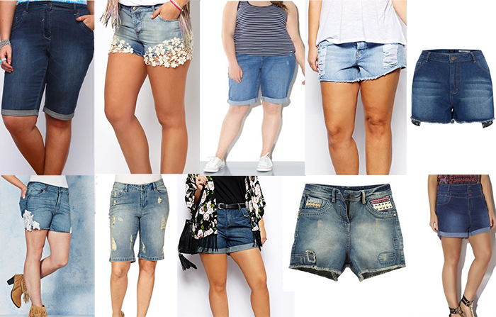Plus Size Denim Shorts - Summer Is Here! - 30SomethingMel