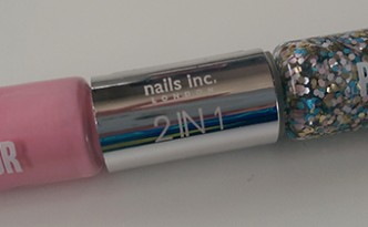Nails Inc Angel & Upper Street 2 in 1 Colour & Pop Art