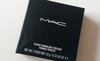 MAC Studio Careblend Pressed Powder in Medium