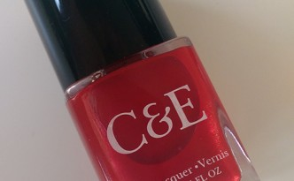 C&E Nail Polish in Apple (Crabtree & Evelyn)