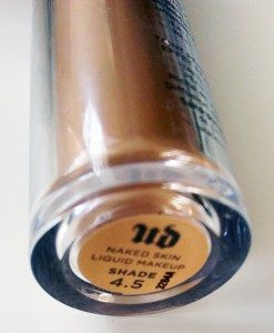 Urban Decay Naked Skin Liquid Foundation in 4.5