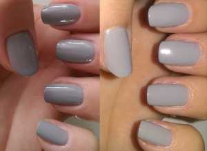 Nails Inc Hyde Park Palace  (left) no flash (right) with flash)