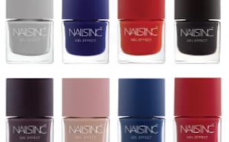 Nails Inc AW 2014 Gel Effect Nail Shades