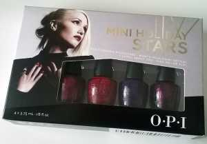 OPI Mini Holiday Stars 2014 Gwen Stefani Collection
