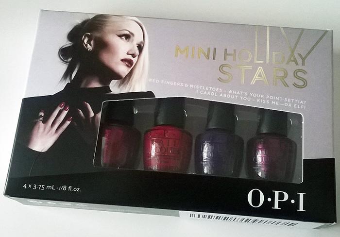 OPI Mini Holiday Stars 2014 Gwen Stefani Collection - 30SomethingMel
