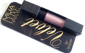 MUA Luxe Velvet Lip Lacquer - Tranquility