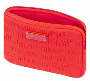 Marc by Marc Jacobs Adults Suck Bright Coral Mini Tablet Case £25.00 at Harvey Nichols