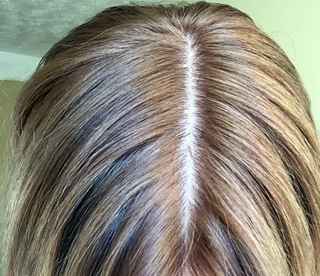 Oreal Excellence Creme in 8.1 Natural Ash Blonde – After using