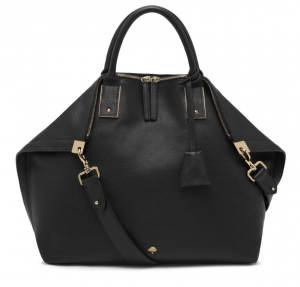 Mulberry Alice Zipped Tote in Black