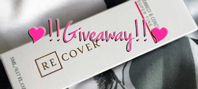 Recover Correct & Conceal Red GIVEAWAY
