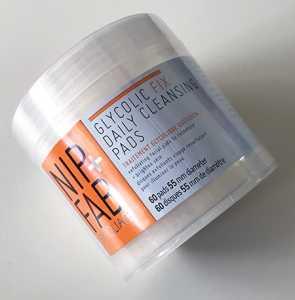 Nip+Fab Glycolic Fix Exfoliating Facial Pads x60