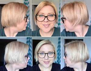 Schwarzkopf Color Expert Light Cool Blonde 10.2 Hair Dye results, before and after