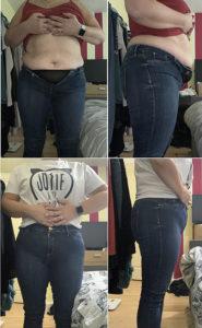 Keto Lifestyle - Final Goals and Progress. Destination Jeans